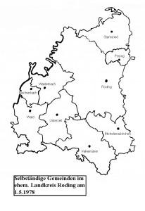 Karte Landkreis Roding 1_5_1978